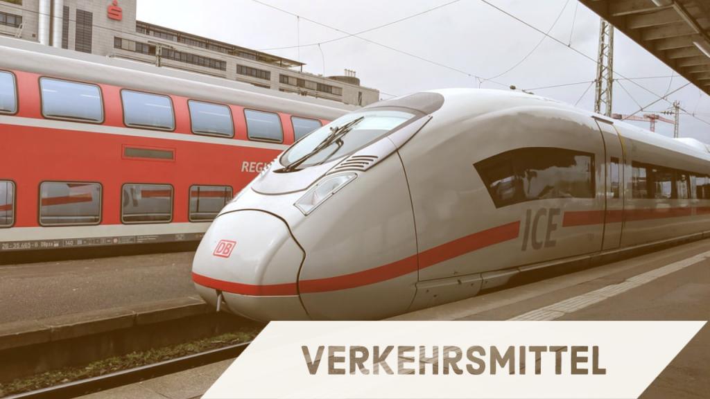德文常用句 交通 德鐵