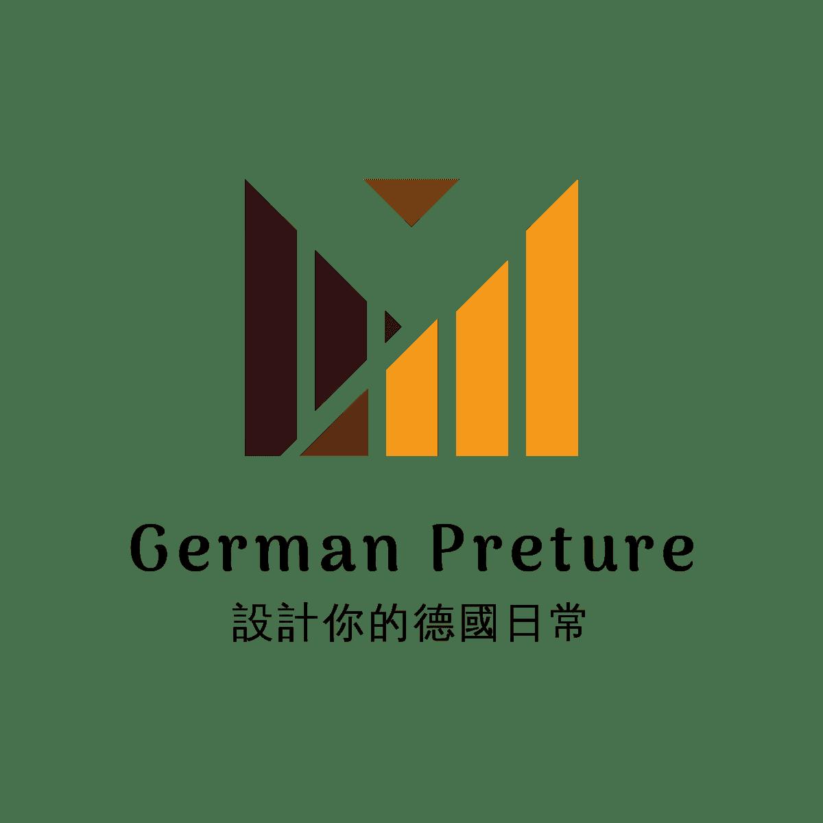 German-preture |設計你的德國日常 Logo